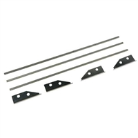 "7"" Flat Box Repair Kit For Drywall Master / Tapetech / Level5 501C7"