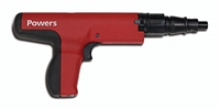 POWERS FASTENERS P3500 POWERS .27 Caliber Powder-Actuated Semi-Automatic Tool  (52000)