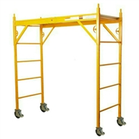 "NU-WAVE 6 FT 660 Classic Scaffold with 5"" Casters  660-CL/PIC-5"