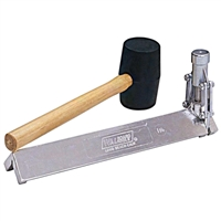 WAL-BOARD 1-1/4 in. Cornerbead Tool w/ Mallet  71002