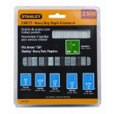 STANLEY 2,500 COUNT HEAVY DUTY STAPLE ASSORTMENT