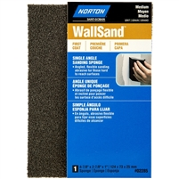 NORTON WALL SAND SINGLE ANGLE SPONGE MEDIUM  (BOX OF 24 EACH) 02285