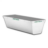 "SHEETROCK BRAND 12"" MATRIX STAINLESS STEEL MUD PAN WITH REINFORCED BAND"
