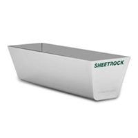 "SHEETROCK BRAND 18"" CLASSIC STAINLESS STEEL MUD PAN"