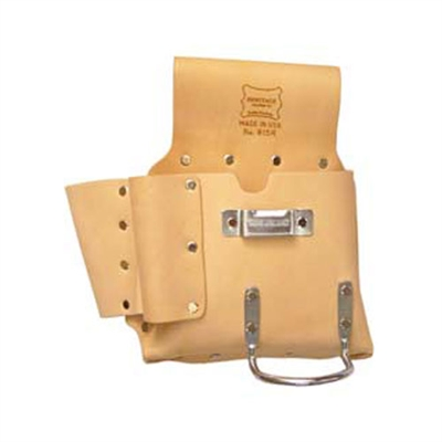 HERITAGE 6-Pocket Drywall Hanger's Tool Pouch - Left Handed 815L
