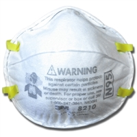 3M Particulate Respirator 10 PACK 8210 Plus