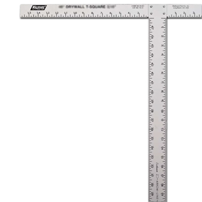 "WAL-BOARD 54"" Calibrated T-Square 88016"