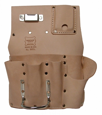Heritage 7 Pocket Drywallers Pouch Left Handed