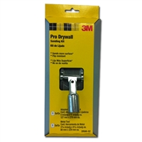 3M Pro Drywall Sanding Kit w/Metal Adapter Display  90065