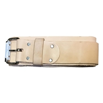 "Heritage 3"" Wide Leather Belt with Roller Buckle - XXL   960XXL"