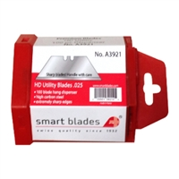 "Smart Blades Heavy Duty Utility Blades .25"" (pack of 100)"