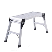 "Aluminum Platform Step Up Folding Work Bench        30 1/2"" X 11.8"""