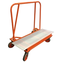 "ADAPA BIG BRUTE 48"" Drywall Cart with Plastic Deck (3600 POUND CAPACITY)"