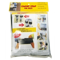 Comfort Strap For Stilts  Totally Comfortable, Durable And Less Fatigue, Fully Adjustable, Works With All Stilts