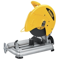 "DeWALT Heavy Duty 14"" Chop Saw with Keyless Blade Change  D28715"