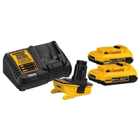 DEWALT 18V-20V Adapter Battery Combo Kit DWCA2203C