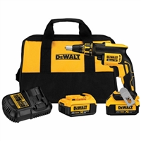 DeWalt20V Max Li-Ion Brushless Drywall Screw Gun  DCF620M2