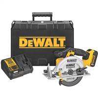 DeWALT 20V MAX Lithium Ion Circular Saw Kit  DCS391P1