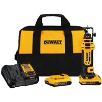 DeWalt 20V MAX* Lithium Ion Cordless Drywall Cut-Out Tool Kit
