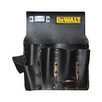 DEWALT Drywall Black Leather Pouch  DG5485