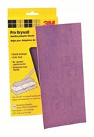 3M Pro Drywall Sanding Sheets 100 GRIT  10 SHEETS