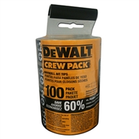 DEWALT # 2 DRYWALL BITS (100 PACK BOX)  #DW2002BL
