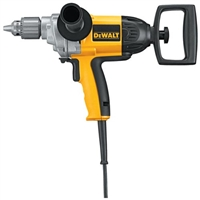 DEWALT 130V HEAVY DUTY 1/2 SPADE HANDLE DRILL SET  Dewalt 1/2in Spade Handle Mud Mixing Drill DW130V