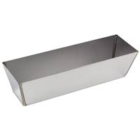 "KRAFT 10"" Heli-Arc Stainless Steel Mud Pan DW710"