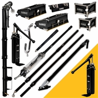 DEWALT Drywall Taping & Finishing Set (FREE PUMP) Standard Boxes, Long Handles  DXTT-2-601