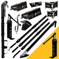 DEWALT Drywall Taping & Finishing Set (FREE PUMP) MEGA Boxes, Standard Handles  DXTT-2-610