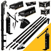 DEWALT Drywall Taping & Finishing Set (FREE PUMP) MEGA Boxes, LONG Handles  DXTT-2-611
