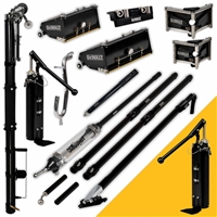 DEWALT Drywall Taping & Finishing Set with MudShot (FREE PUMP) MEGA Boxes, Extension Handles DXTT-2-616