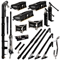 DEWALT ULTIMATE Drywall Taping & Finishing Set with MudShot STANDARD Boxes, Extension Handles DXTT-2-617