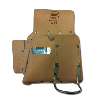 HERITAGE 6 POCKET Drywall Pouch - Right Handed - EP78