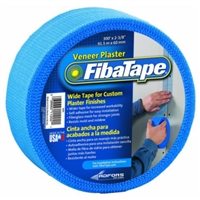 FibaTape Extra Strength Self Adhesive Drywall Mesh Tape  FibaTape Veneer Plaster Joint Tape, Blue, 2-3/8-In. x 300-Ft