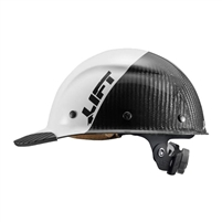 LIFT SAFETY DAX Fifty 50 Carbon Fiber Cap White/Black HDC50C 19WC
