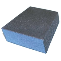 JOHNSON ABRASIVES MEDIUM/FINE SANDING SPONGE  (BOX OF 24 EACH) 1107