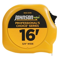 Johnson Level Tape Measure 16' FT