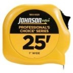 Johnson Level Tape Measure 25' FT