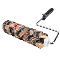 LEATHER TEXTURE ROLLER 9""