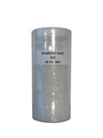 Diamond dust Glitter -16 oz Jar .062 size