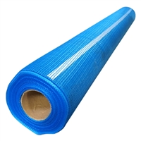 "Blue 2.5oz Mesh with adh. 36""x150'"
