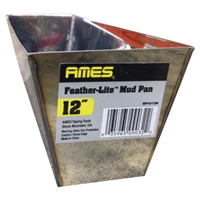 "AMES Feather-Lite Stainless Steel Pan 12""  MP0012"