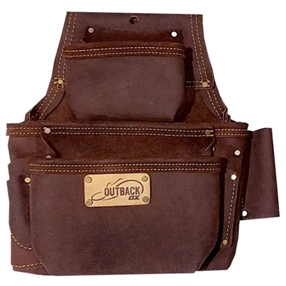 OX TOOLS Fastener Bag Leather Oil-Tanned 3 Pro OXGP263503