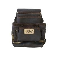 OX TOOLS Pro 10-Pocket Pouch - Oil-Tanned Leather OX-P263701