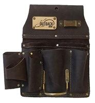 OX TOOLS Drywaller's Tool Pouch - Oil-Tanned Leather OX-P263801