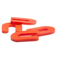 "OX TOOLS Shim Spacer Orange 3/16"" Horseshoe (1000/BX)  OXGT161131"