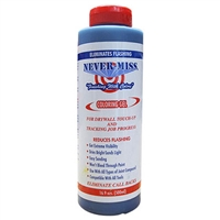 NEVER-MISS COLORING TINTING GEL FOR DRYWALL TOUCHUPS BLUE 16.9 oz bottle  PB500