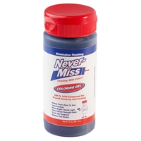 NEVER-MISS COLORING TINTING GEL FOR DRYWALL TOUCHUPS BLUE 3oz bottle  PB88