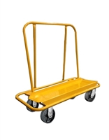 "NUWAVE PD3 Drywall Cart 2 Rigid 2 Swivel 8"" Hi-Tech Casters (3000 POUND CAPACITY)"